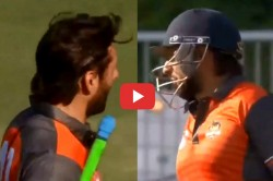 Global T20 Shahid Afridi S Hilarious Reply To Wahab Riaz S Call For A Second Run Video