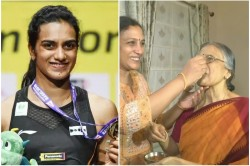 Pv Sindhu S Mother Reacts On Her Maiden World Championships