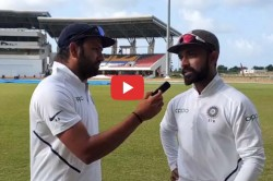 Ajinkya Rahane Reveals The Secret Behind His Ton Against West Indies To Rohit Sharma