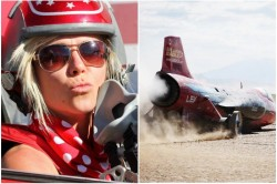 Fastest Woman On Four Wheels Jessi Combs Killed In Fatal Crash