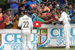 Kane Williamson Celebrates His Birthday With Sri Lankan Fans Video Goes Viral