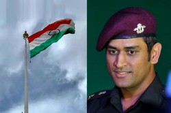 Lt Col Ms Dhoni Will Unfurl The Indian National Flag On 15 August In Ladakh