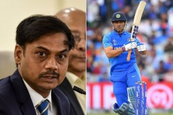 Dhoni Is Not Retiring Msk Prasad S Statement Came In Front