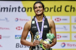 After Making History Pv Sindhu Said I Have Responded To The Critics With My Racket