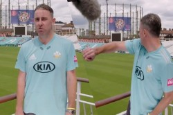 Incredible Catch By Rikki Clarke During An Interview Video Viral