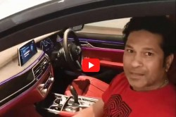 Sachin Shares Video Of His First Driverless Parking Car On Social Media