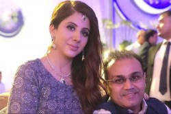 Virendra Sehwag Shared A Special Picture With Wife Aarti