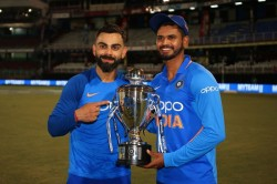 Shreyas Iyer Reminds Kohli Of His Old Days Know What The Captain Said