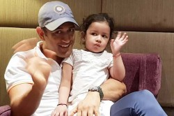 Ms Dhoni Daughter Ziva Playing With Puppy Video Viral On Social Media