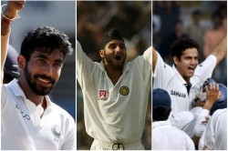 Bumrah Irfan Harbhajan Here Is The All 3 Test Hat Trick By Indian Bowler Watch