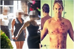 Shane Warne Is Caught Doing Party With His Girlfriend And Two Sex Worker In London