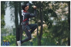 Kolkata Born Uae Spinner Rishabh Mukherjee Says My Dream Is To Play For India