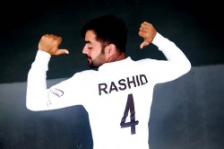 Afghanistan S Skipper Rashid Khan Creates History In Test Match