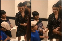 Year Old Boy Offering To Give His Autograph To Virat Kohli And Anushka Sharma Watch