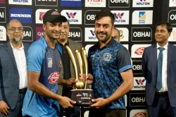Bangladesh Vs Afghanistan Rain Rain Washes Out Final Tri Nation T 20 Trophy Is Shared
