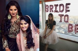 Sania Mirza S Sister Anam Mirza Shares Bride To Be Pic Can Tie A Knot With Mohammad Azharuddin Son