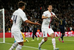 Champions League Vintage Angel Di Maria Creates History In 100th Match As Psg Tear Apart Real Madrid