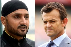 Harbhajan Singh Slams Adam Gilchrist Says Stop Crying Drs Excuse Test Hattrick