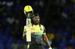 Chris Gayle Hit A Stormy Century Hitting 10 Sixes Yet The Team Lost
