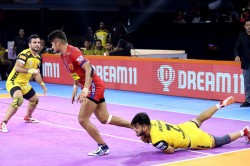 Pro Kabaddi League 2019 Dabang Delhi Beat Telugu Titans By 37
