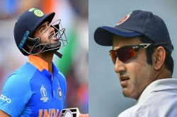 Gautam Gambhir S Warning To Rishabh Pant Go Steady Otherwise This Player Is Ready