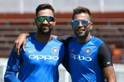 Hardik Pandya Trolls Krunal Pandya In A Video Of Training Session Watch