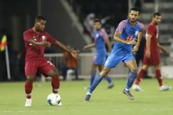 World Cup 2022 Qualifier India Vs Qatar Blue Tigers Hold Asian Champions Qatar