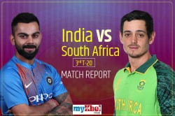 India Vs South Africa 3rd T20i In Bengaluru Match Report And Highlights South Africa Won By 9 Wicket
