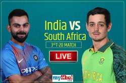 India Vs South Africa 3rd T20i Live Cricket Score Commentary At M Chinnaswamy Stadium Bengaluru