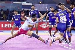 Pro Kabaddi League 2019 Match Drawn Between Haryana And Jaipur