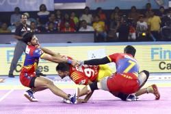 Pro Kabaddi League 2019 Up Yoddha Beat Gujarat Fortunegiants