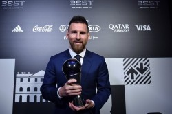 Barcelona Striker Lionel Messi Wins Fifa Player Of The Year