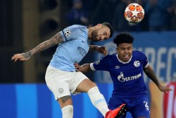 Champions League 2019 Bernardo Silva Hat Trick Powers Manchester City To Record Win
