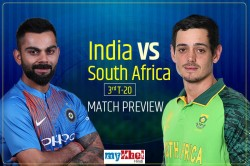 India Vs South Africa 3rd T20 Match Preview India Look To Clean Sweep Series Against South Africa