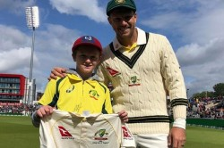 Year Old Australian Fan Saved Up 4 Years Worth Of Pocket Money To Go To The Ashes