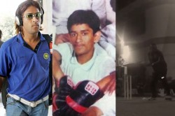 Ms Dhoni Posts His 100th Post On Instagram Recalls Funny Cricket During School Days