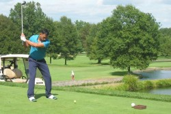 Ms Dhoni Shows His Talent In Golf Too Plays His Tournament In Usa