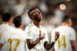 Spanish La Liga League Real Madrid Go Top Of La Liga Table With 2 0 Win Over Osasuna