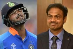 Msk Prasad Names Three Young Wicket Keepers As Rishabh Pant Backup Says Msk Prasad