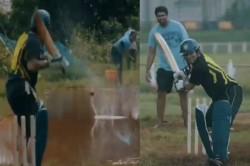 Sachin Tendulkar Played Dangerous Balls On A Water Filled Pitch