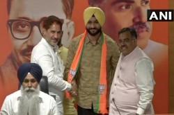 Apart From Yogeshwar Dutt Former Hockey Player Sandeep Singh Also Joined Bjp
