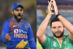 Shahid Afridi Happy With Virat Kohli Performance And Says You Are A Great Player