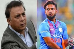 Gavaskar Said If Not Rishabh Pant Then This Player Will Be The Next Best Option