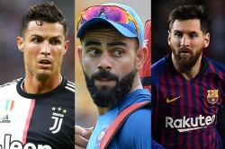 Virat Kohli Reveals Who Is Great Footballer Between Lionel Messi And Cristiano Ronaldo