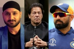 Mohammed Shami Harbhajan Singh Reacts To Pakistan Pm Imran Khan Unga Speech
