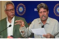 After Kapil Dev Anshuman Gaekwad Resignation From Cac Here Is What Vinod Rai Said