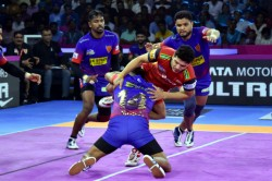 Pro Kabaddi League 2019 Semi Final 1 Preview Bengaluru Bulls Vs Dabang Delhi