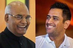 President Ramnath Kovind Says Ms Dhoni Has Made Ranchi Famous In The World Of Cricket