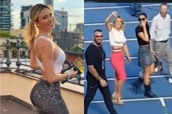 Diletta Leotta Wags Her Finger And Puts Thumbs Down As Napoli Fans Chant