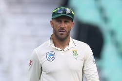 Faf Du Plessis Slams His Bowlers Says Learn Something From This Indian